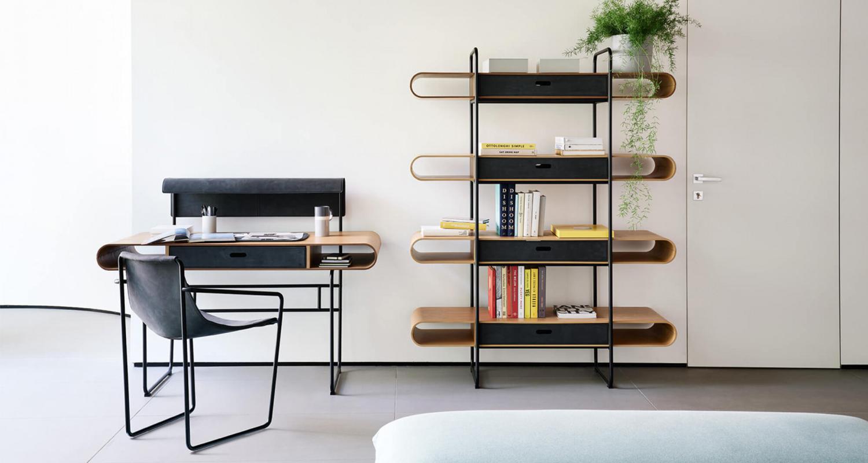 con diseño curvo y minimalista