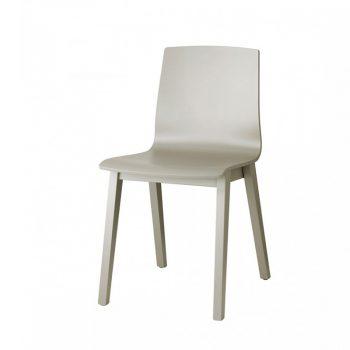 Natural Alice Wood sillas de madera en diferentes colores